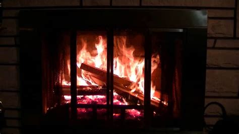 Crackling Fireplace Sound by Crackling Wood Burning Fireplace Hd