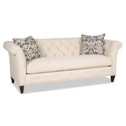 Bench Sofa Astrid Traditional Bench Sofa With Tufted Back By Sam