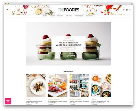 35 Awesome Food Wordpress Themes To Share Recipes 2018 Colorlib Best Food Templates