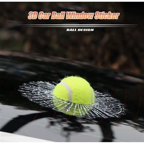 Stiker 3d Mobil Model Bola Tenis stiker 3d mobil model bola tenis green jakartanotebook