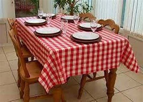 country homewares country style new table cloth gingham tablecloth