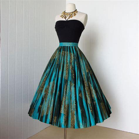 Vintage Skirt By Vintage Skirt vintage mexican circle skirt vintage mexican hawaiian