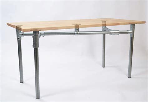 Pipe Frame Desk by Pipe Desk Frames The Awesomer