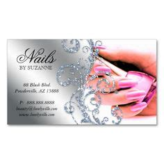 nail business card template nail technician business cards on business