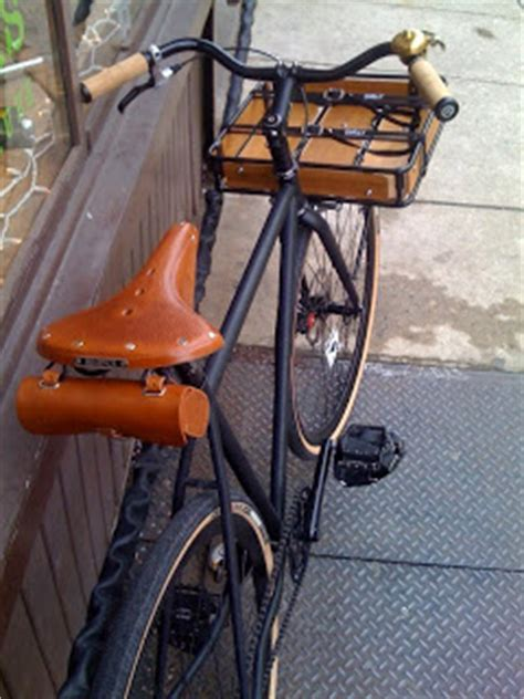 Fixed Gear Front Rack by Bicycle Revolutions Surly Fixed Gear Disc Brake Rack Bike