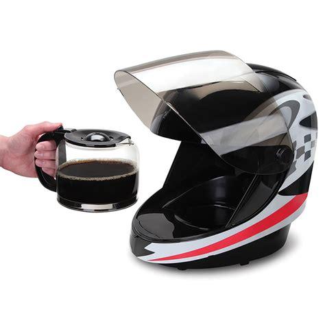 helmet design creator a racing helmet coffee maker