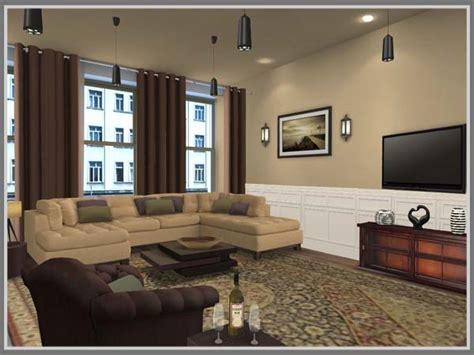 membuat warna coklat tua menata paduan warna coklat untuk desain interior