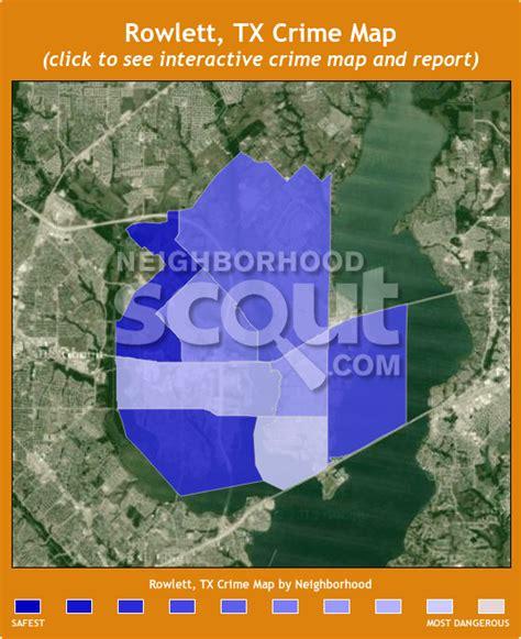 rowlett map rowlett crime rates and statistics neighborhoodscout