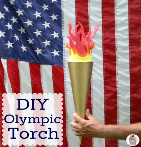 How To Make A Paper Torch - 10 diy ideas for a winter olympics make and takes