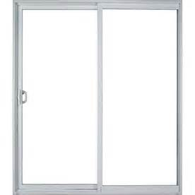 milgard sliding glass door parts shop milgard style line 71 5 in clear glass vinyl sliding