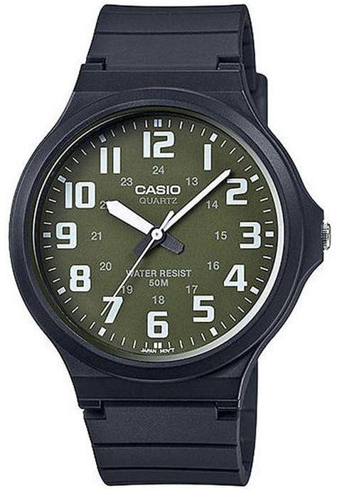 Casio Mw 240 3bv By Casio Original s casio easy to read casual black mw240 3bv