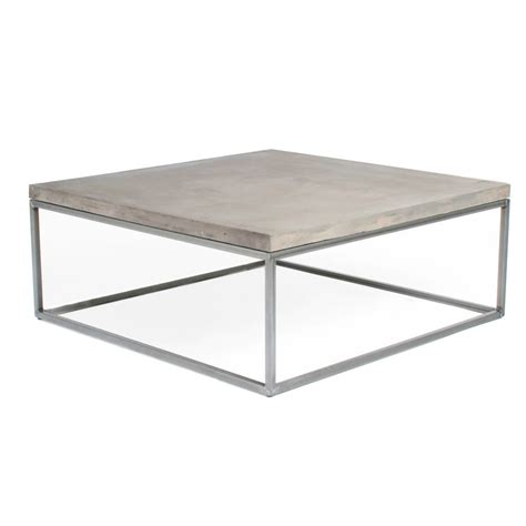 small concrete coffee table concrete perspective coffee table by lime lace