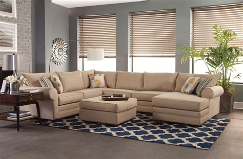 belfort furniture sectional sofas belfort essentials monticello casual sectional sofa