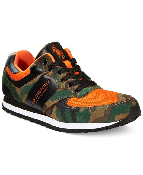 polo ralph slaton sport sneakers in multicolor for
