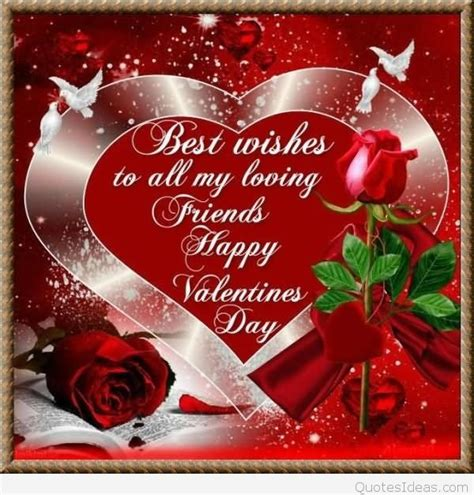 wishing a friend happy valentines day happy s day friends pictures wishes messages 2016