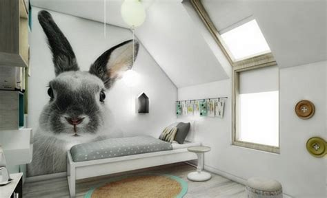 rabbit in bedroom kids bedrooms with interesting accent walls that will