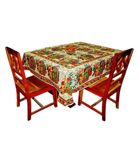printed table covers sriam multicolor cotton printed table cover buy sriam multicolor cotton printed table cover