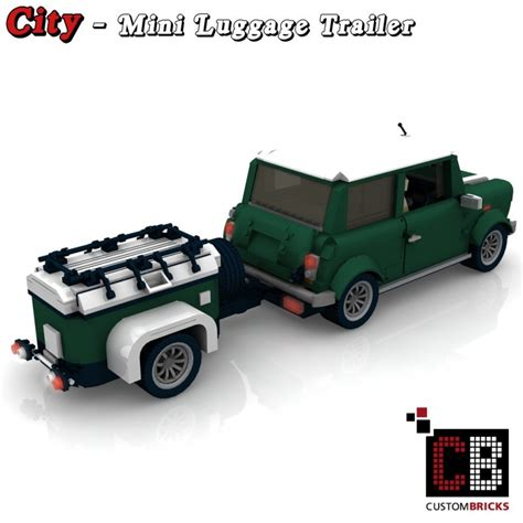 Led Usb Light Set Lego Mini Cooper 10242 trailer