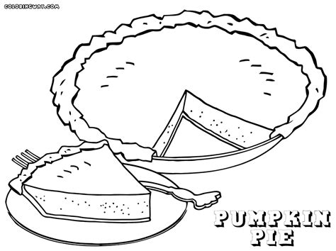 Pie Coloring Pages Coloring Pages To Download And Print Pie Coloring Page
