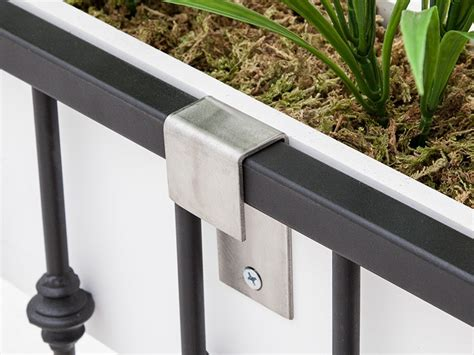 Railing Brackets For Planters by Stainless Steel Window Box Brackets For Balcony Planters