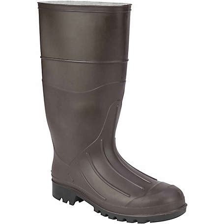 rubber boots at tractor supply premium rubber knee rain boot at tractor supply co