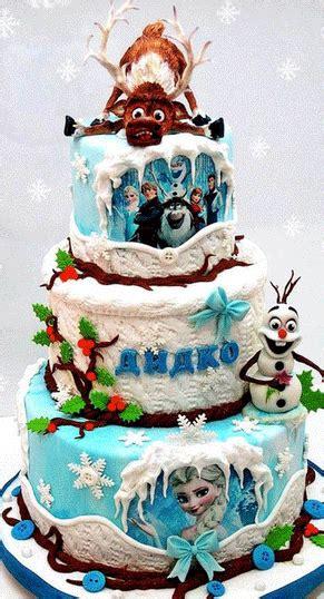 film frozen pelangi gambar kue ulang tahun princess frozen disney unik dan