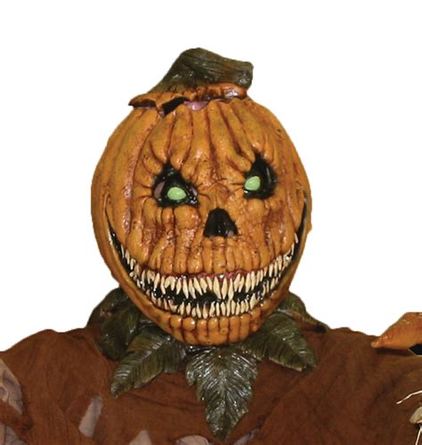 pumpkin mask pumpkin rot mask scary mask gorilla mask