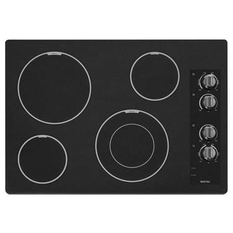 Flat Cooktop Shop Maytag Smooth Surface Electric Cooktop Black
