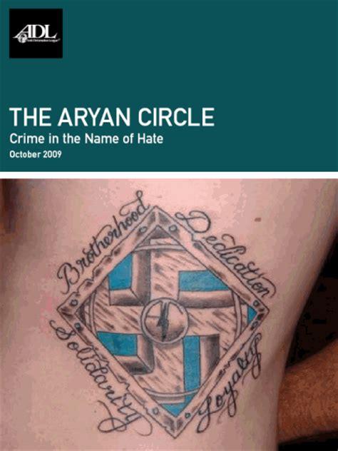 the aryan circle anti defamation league online store