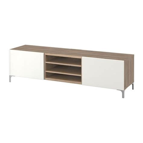 ikea besta grey best 197 tv unit with drawers walnut effect light gray