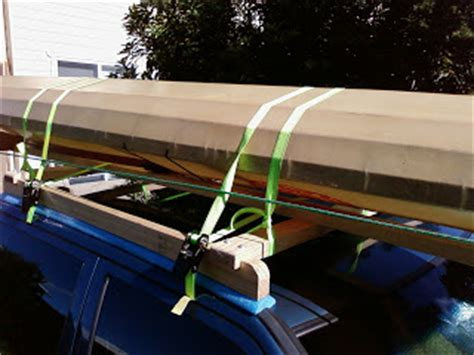 Pool Noodle Roof Rack by Feral Paddler Home Made Roof Racks