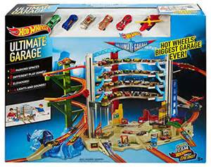 Hot Wheels Mega Auto Garage Playset Review   Top Toys for