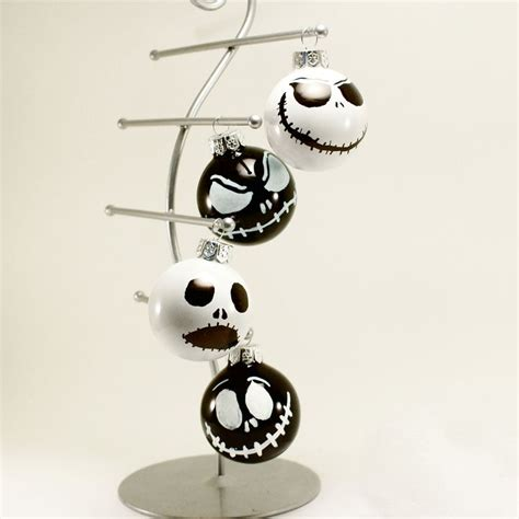 the nightmare before christmas ornaments set of 4 hand