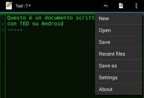 android tutorial notes ted un blocco note per android tutorial risorse e