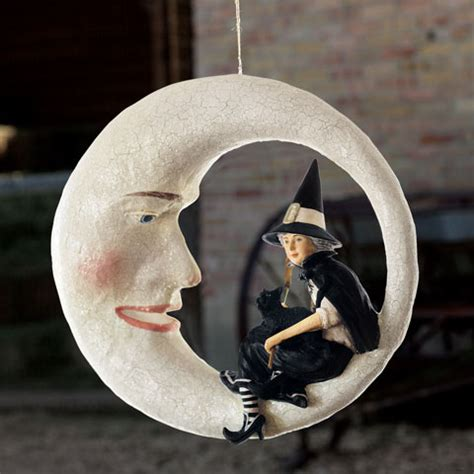 Hanging Moon L by Witching Hour Hanging Moon Olive Cocoa