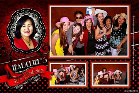 photo booth layout design birthday back and red photo booth design xpressbooth photo booth