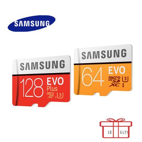 Samsung Micro Sd 128gb Original 100 original samsung microsd card flash memory card 64gb 128gb