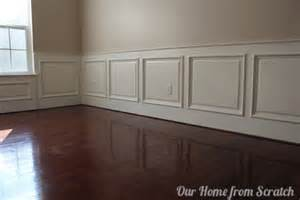 How To Install Wainscoting In Dining Room Remodelaholic Diy Wainscoting Tutorial