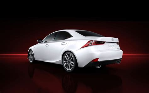 lexus cars back all new 2014 lexus is sports car photos and details