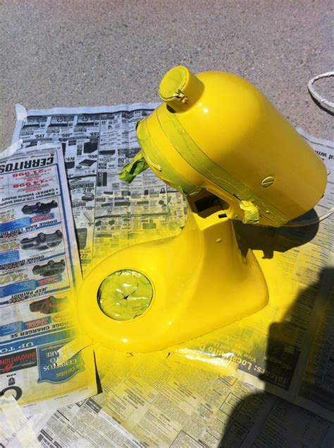 How to: Paint Your Kitchen Aid Mixer   Little Bits of