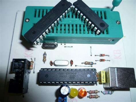 Pcb Usbasp Usbisp Universal Usbasp Zif Soket atmel usb programmer circuit zif socket usbasp atmega8 electronics projects circuits