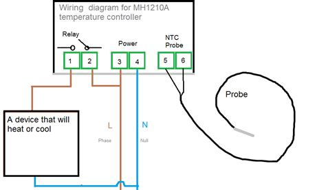 temperature controller wiring diagram wiring diagram and