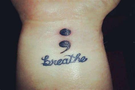 what does a semicolon tattoo mean 1000 ideas about semi colon on semicolon