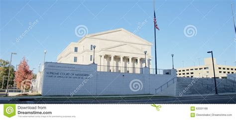 Jackson Ms Court Records The Supreme Court Of Mississippi Building Jackson