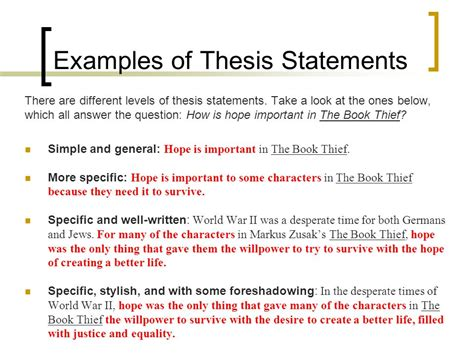 what is a thesis for a research paper unraveling the essay question ppt