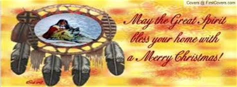 native american merry christmas facebook profile cover