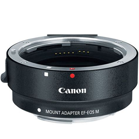 canon mount adapter ef to eos m ted s cameras