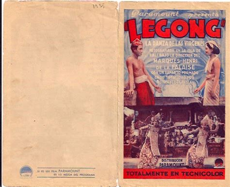 film legion bagus quot legong quot movie poster quot legong dance of the virgins