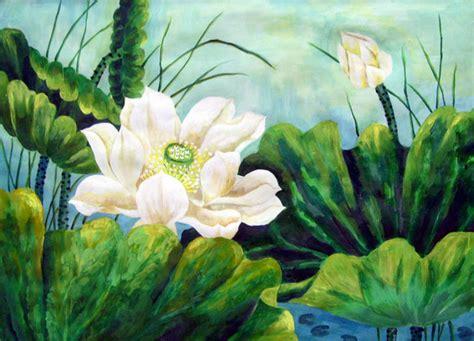fiore dipinto dipinto fiore di loto