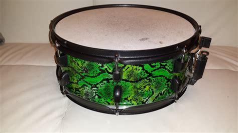 tomtom pattern drum diy mini bop snakeskin drum kit compactdrums
